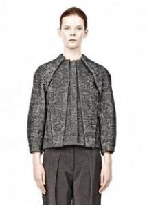 Alexander Wang – Geyser Tucked and Folded Jean Jacket With Blouson front