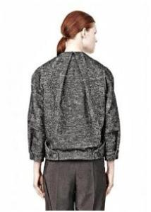 Alexander Wang – Geyser Tucked and Folded Jean Jacket With Blouson Back