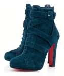 Louboutin – Lamu 120 mm Blue Khol