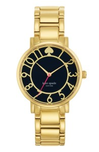 Kate Spade New York round bracelet watch