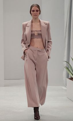 Barbara Casasola corporate jacket and pants