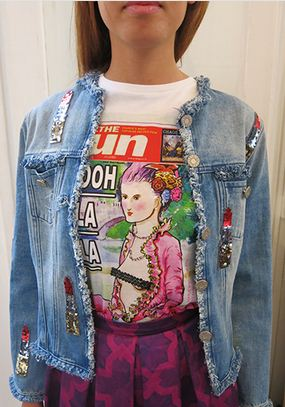 House of Holland denim jacket