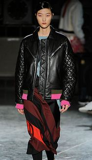 Jonathan Saunders leather jacket