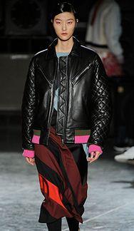 Jonathan Saunders leather jacket