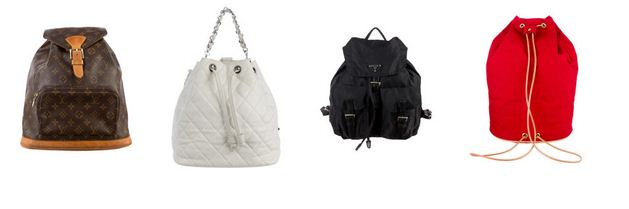 LV, Chanel, Prada, Hermes backpacks