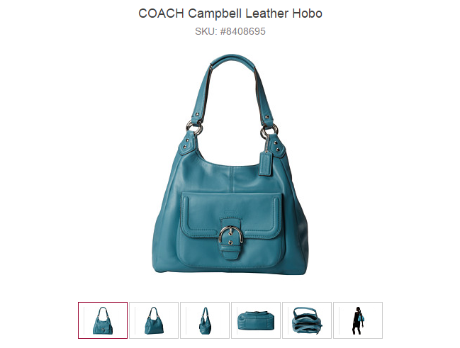 COACH Campbell Leather Hobo
